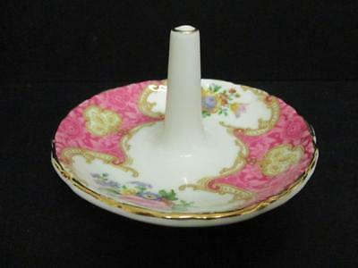 Royal Albert Lady Carlyle Ring Tray Dish Circa 1944 Boxed