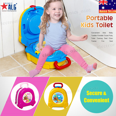 Portable Convenient Kids Baby Toddler Travel Potty Toilet Training Seat Chair