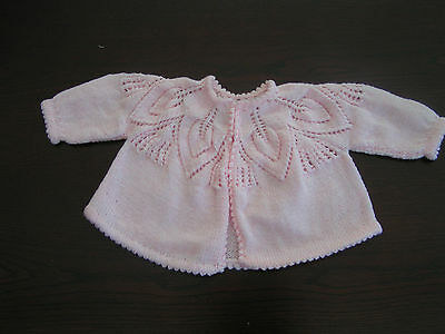 Vintage knitting pattern for Baby's Matinee Jacket in 4ply