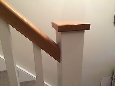 Solid Oak, Newel Cap, Fence Post, Stair Parts