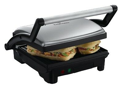 Russell Hobbs 3-in-1 Panini Press, Grill and Griddle 17888 - Stainless Steel NEW