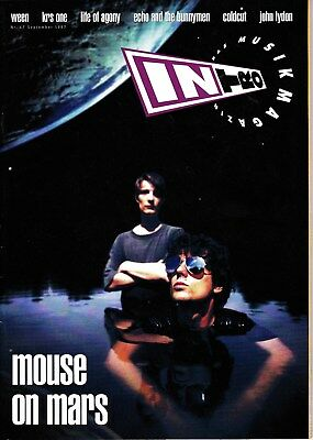 INTRO # 47 (Mouse on Mars, Ween, Krs One, Life of Agony, John Lydon...)