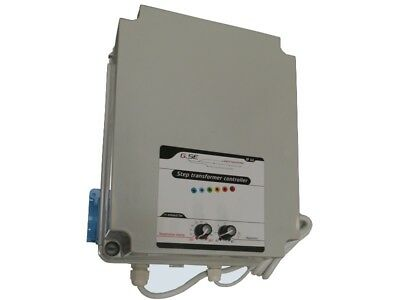 GSE stufentransformator 2,5 A incl. Temperature and Hysteresis Speed Controller