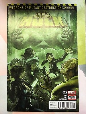 Totally Awesome Hulk 22 First Print Unread