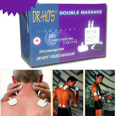 DR HO'S Dual Double Muscle Massager Therapy Relieve Pain Relax Therapy System