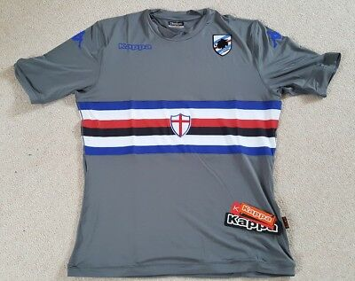 UC Sampdoria Football Soccer Kappa Goalkeeper Jersey Shirt Adult XXL BNWT