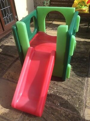 Good Cond Little Tikes Activity Gym With Slide
