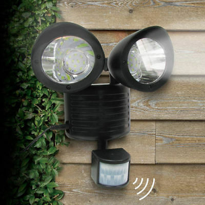 Solar Sensor Light Motion Spot Floodlight Lamp Security Detector Outdoor 22 LED