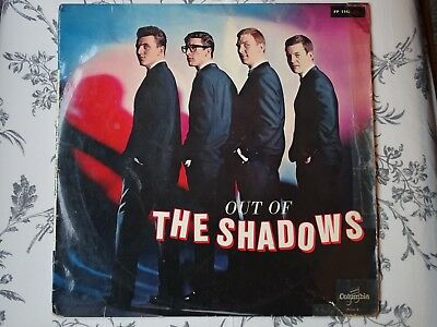 "Out of the SHADOWS. Original FRENCH 10"" LP. Plays Excellent."