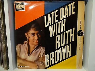 RUTH BROWN,, LATE DATE WITH RUTH BROWN,, Original 1959 LONDON label LP.