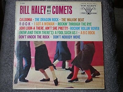 BILL HALEY & HIS COMETS,, SELF TITLED USA VOCALION label LP. EXCELLENT