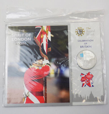 2010 Celebration of Britain - Spirit of London Base Proof £5 Coin Sealed Pack