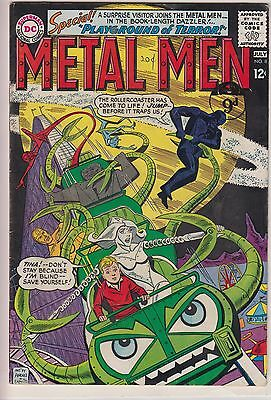 Metal Men 8  - Playground of Terror -  from July 1964