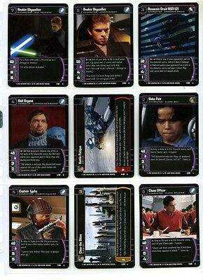 Star Wars CCG Attack of the Clones - Complete Set of Cards - #1 to #180
