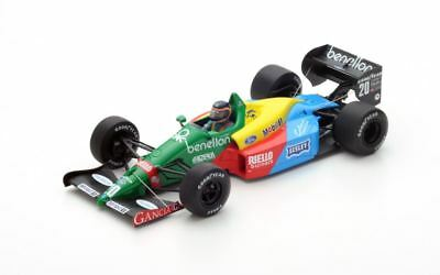 Spark Benetton Ford B188 #20 - Thierry Boutsen - 3rd Canadian GP 1988 1/18