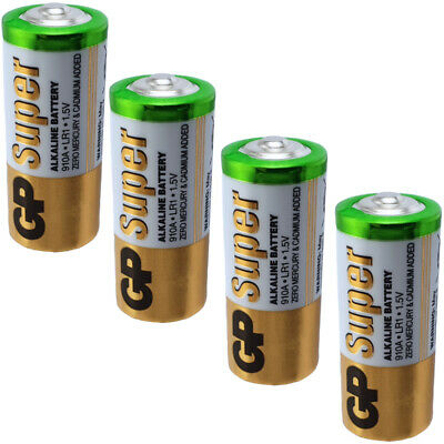 4 x GP 910A MN9100 E90 LR1 AM5 KN N 1.5V Batteries