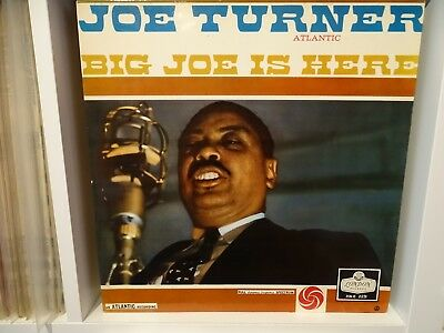 JOE TURNER,, BIG JOE IS HERE,, Original 1959 LONDON label LP. EXCELLENT