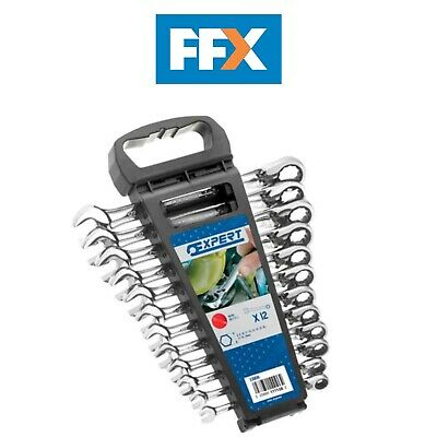 Britool Expert E111106B Ratchet Combi Spanner Set of 12