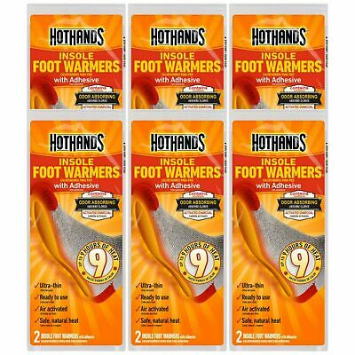 Hot Hands Instant Insole Foot Warmers - 6 Pack