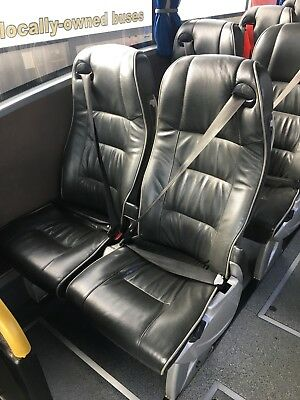 Leather Coach Seats - Price Per Double