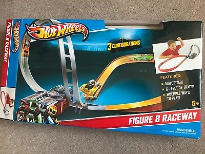 Hot Wheels Figure 8 Raceway. PLAYED WITH ONCE