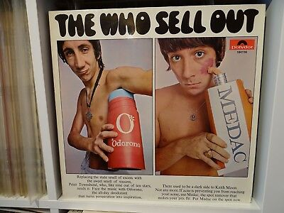 THE WHO,, SELL OUT,, GERMAN Polydor label LP. Near MINT.