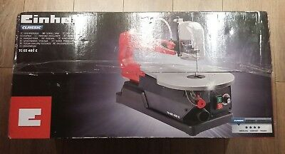 Einhell TC-SS Scroll Saw with Table Tilt & Dust Blower 80W/240V  EINTCSS405E NEW
