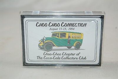 Coca Cola Coke Deck Playing Cards Choo Choo Connection 1994 Collector's Club New