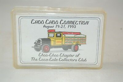 Coca Cola Coke Deck Playing Cards Choo Choo Connection 1993 Collector's Club New