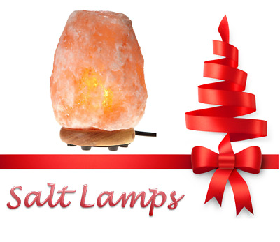 Himalayan Salt Lamp 2-3kg Includes 3 FREE Light Bulbs (Collection Only)