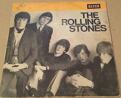ROLLING STONES - SATISFACTION -French1965 DECCA Jukebox + die-cut Picture Sleeve