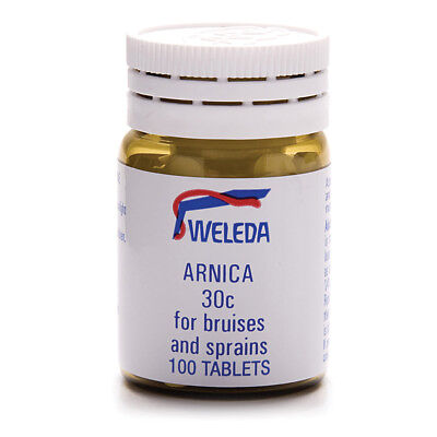WELEDA Arnica 30c 100 Tablets For Bruises & Sprains 100t