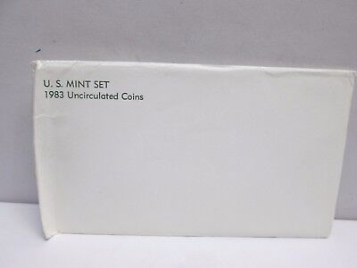 1983 Us Mint Uncirculated Coin Set