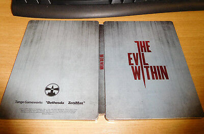 The Evil Within G1 Steelbook Tin game case (game not included) NEW UNUSED