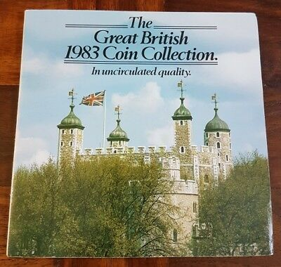 1983 UK Martini Edition Great British Uncirculated Coin Set