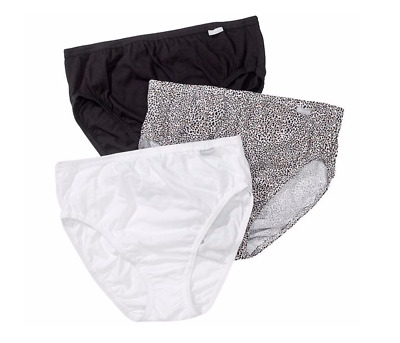 7ab7168a2 Jockey Elance 3 Pack Cotton Classic French Cut Panties Size 9 Brand New w  Tags