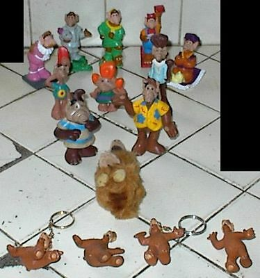 (15) Different ALF Toys, Figures, Keychains, ALIEN PROD., WENDY'S, 1987-1990