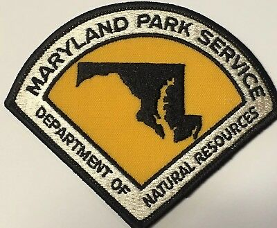 Maryland Park Service Patch 1974 - 1978 - Forest DNR