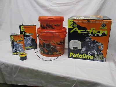 Foam Air Filter Oil , Cleaner , Putoline Service Kit Used Mx Off Road