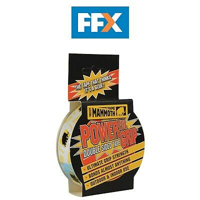 Everbuild 2POWERGRIP12 Powergrip Double Sided Tape 12mm x 2.5m