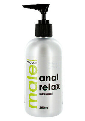 (7,18€/100ml)MALE ANAL RELAX  LUBRICANT, Gleitgel, Anal, Pumpspender, 250 ml