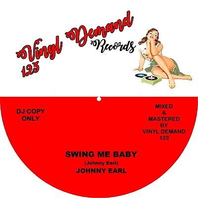 SWING ME BABY / ANNE MARIE VALENTINE Johnny Earl *Double Sided HOT Jivers*