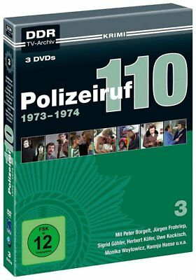 Polizeiruf 110 - 3 Staffel - 1973-1974 - 3 DVD Box - DigiPak