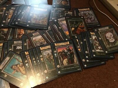 Warlords CCG by ICE. Large lot of cards.