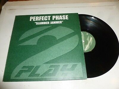 "PERFECT PHASE - Slammer Jammer - Dutch 2-track 12"" Vinyl Single"