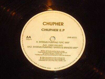 "CHUPER - Chupher EP - UK 2-track 12"" Vinyl Single"