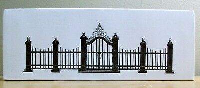 Dept 56 Accessories Heritage Village Collection Wrought Iron Gate and Fence 5514
