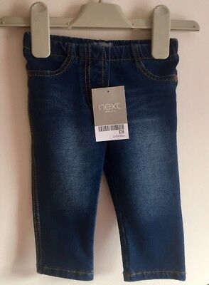 NEW NEXT Baby Girls Skinny Style Jeans Jeggings 3-6 Months BNWT