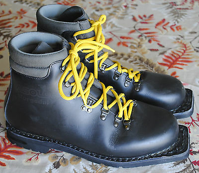 Vintage ASOLO Morgedal Telemark Backcountry 75mm 3 Pin Ski Boots  Men's USA 12