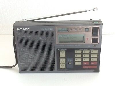 Radio SONY ICF-7600DS FM/LW/MW/SW RECEIVER Made in Japan
